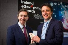 2017 Ireland eGovernment Award for Irish Genealogy.ie