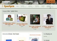 Spailpin.com Language & More page preview